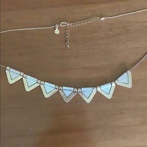 Loft triangle necklace